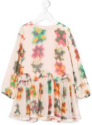 Chloé Kids long sleeve printed dress