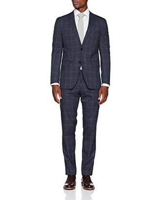 Esprit Men's 098eo2m006 Suit, (Dark Blue 5), (Size: 90)