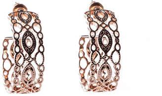 Oasis Filigree Hoop Earrings