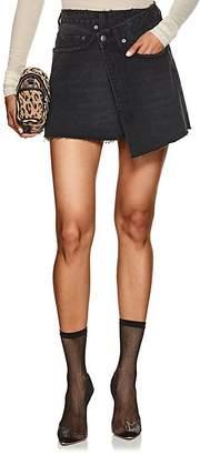 Ksubi Women's Rap Denim Miniskirt