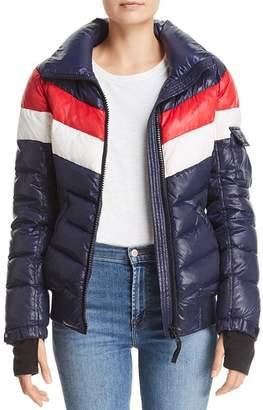 Aqua Retro Puffer Jacket - 100% Exclusive