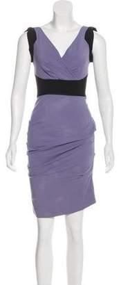 Nicole Miller Sleeveless Knee-Length Dress