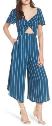 Leith Cutout Culotte Jumpsuit