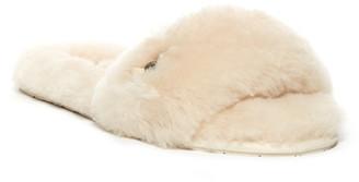 UGG Australia Fluff Slide Genuine Shearling Sandal $89.95 thestylecure.com