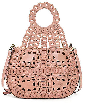 Patricia Nash Chain Link Collection Ticci Shoulder Bag $299 thestylecure.com
