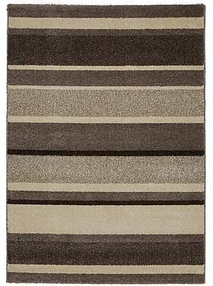 Homemaker Taupe Stripe Rug
