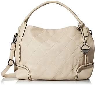 MG Collection Diamond Stitching Hobo Bag