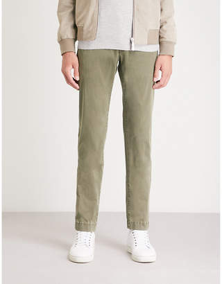 Jacob Cohen Tailored-fit tapered cotton chinos