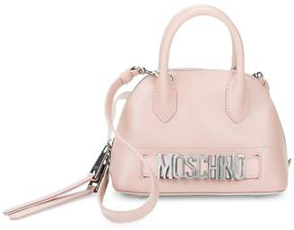 Moschino Women's Dome Leather Satchel