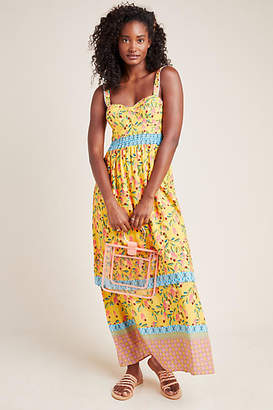 Anthropologie Farm Rio for Anjou Maxi Dress