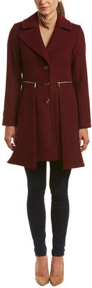 Trina Turk Trina By Carey Wool-Blend Coat