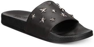 Kenneth Cole Reaction Men's Screen Star-Studded Slide Sandals