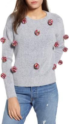 Love By Design Pompom Sweater