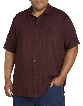 Canyon Ridge Men's Big and Tall Short Sleeve Pattern Microfiber Shirt, up to 7XL