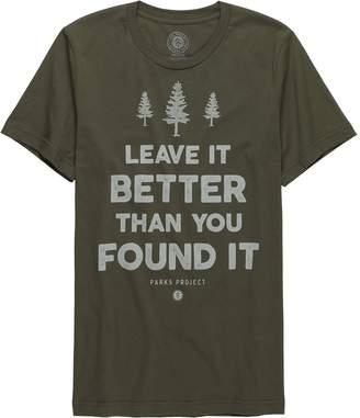 Parks Project Leave It Better Trees Short-Sleeve T-Shirt - Men's