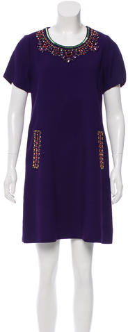 Kate SpadeKate Spade New York Embellished Shift Dress
