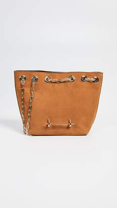 Brown Handbag With Silver Hardware - ShopStyle 48b04f28e759b