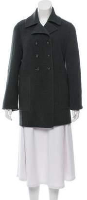 Massimo Alba Wool Pea Coat w/ Tags