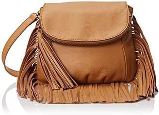 Cynthia Vincent Fringe Detail Cross Body Bag