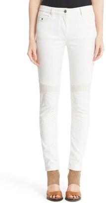 Women's Belstaff Mawgan 2.0 Moto Skinny Jeans $375 thestylecure.com