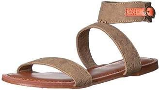 Roxy Women's Marron Ankle Strap Flat Sandal