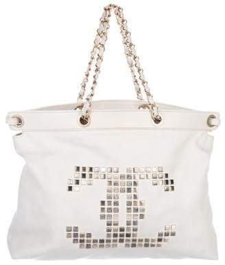 Chanel Mosaic Studs Tote