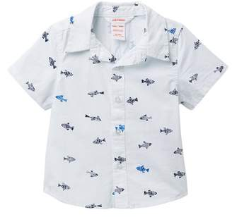 Joe Fresh Allover Woven Shirt (Baby Boys)