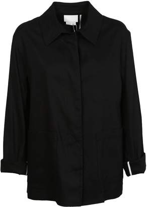 DKNY Draped Fitted Jacket