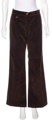 Dolce & Gabbana Corduroy Mid-Rise Pants