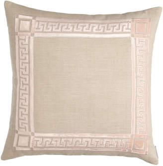 """Horchow Lili Alessandra Mackie 24""""Sq. Greek Key Pillow"""