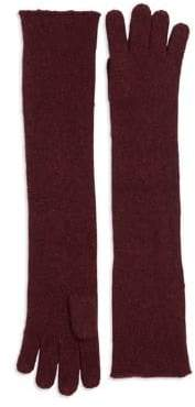 Lord & Taylor Long Knit Gloves