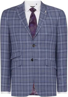 Ted Baker Men's Alram Slim Sterling Bold Check Suit Jacket