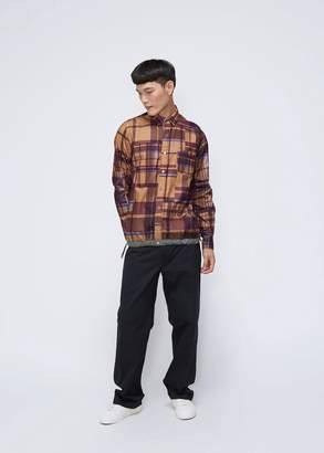 Sacai Check Flannel Shirt