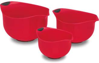 Cuisinart 3 Piece Plastic Mixing Bowls Set