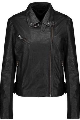 Muu Baa Muubaa Canes Textured-Leather Biker Jacket