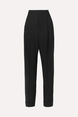 Haider Ackermann Pleated Wool Pants - Black