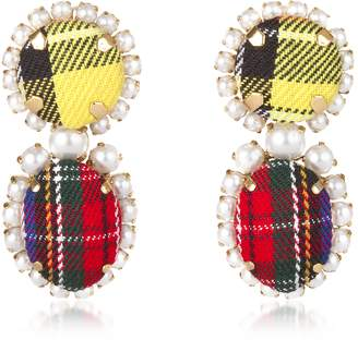 Bijoux De Famille Punk Is Not Dead Earrings