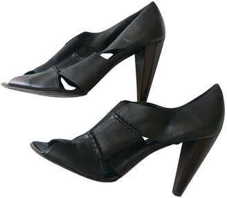 Vanessa Bruno Black Leather Heels