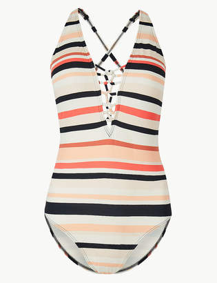 Marks and Spencer Secret Slimming Non-Wired Plunge Swimsuit