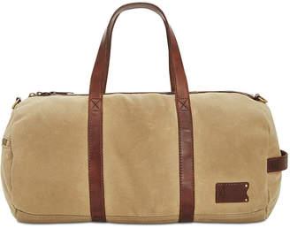 Patricia Nash Men's Waxed Canvas Duffel Bag