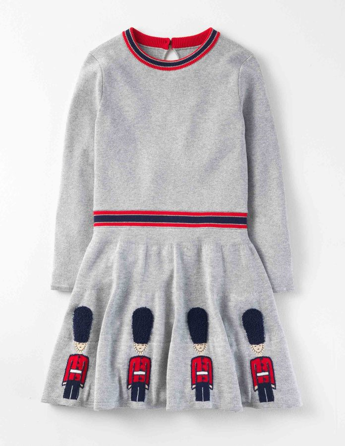 BodenKnitted Royal Guards Dress