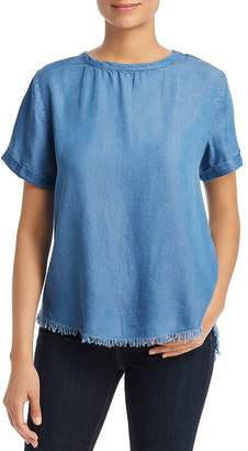 Alison Andrews Chambray High/Low Top