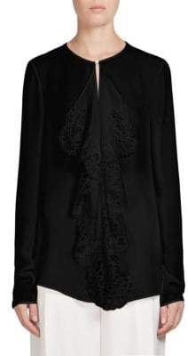 Givenchy Silk Lace Top
