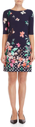 Eliza J Floral Shift Dress