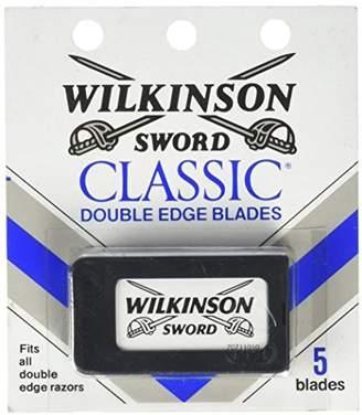 Schick Wilkinson Sword Double Edge Razor Blade Refills for Men