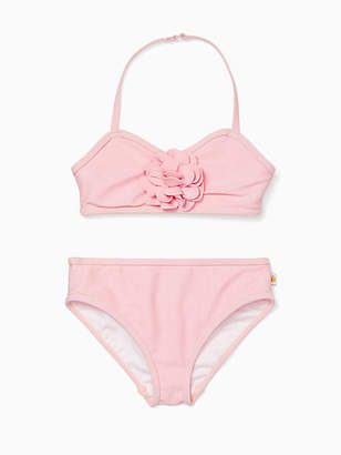Kate Spade Girls rosette two-piece swimsuit