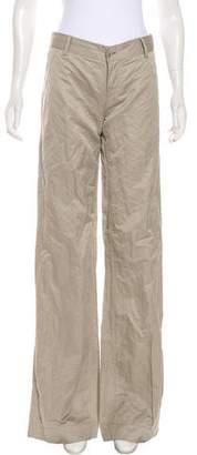 Alberta Ferretti Mid-Rise Flared Pants