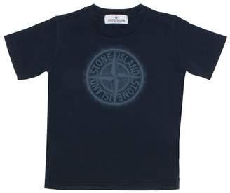 Stone Island Logo T-shirt Navy 6yr