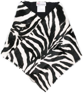 RED Valentino tiger printed scarf