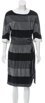 3.1 Phillip Lim Colorblock Midi Dress